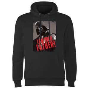 Sweat à Capuche Homme Dark Vador Je Suis Ton Père Gripping - Star Wars - Noir