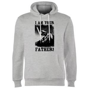 Star Wars Darth Vader I Am Your Father Lightsaber Hoodie - Grey