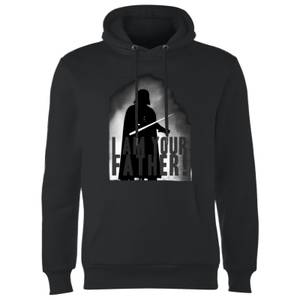 Star Wars Darth Vader I Am Your Father Silhouette Hoodie - Black