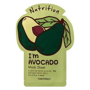 TONYMOLY I'm Real Sheet Mask - Avocado