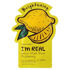 TONYMOLY I'm Real Sheet Mask - Lemon