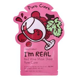 TONYMOLY I'm Real Sheet Mask - Red Wine
