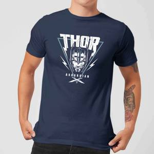T-Shirt Marvel Thor Ragnarok Asgardian Triangle - Navy - Uomo