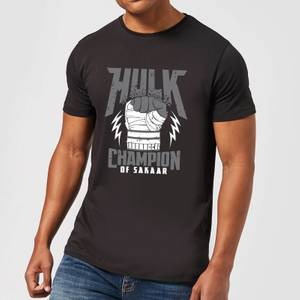 Marvel Thor Ragnarok Hulk Champion Men's T-Shirt - Black
