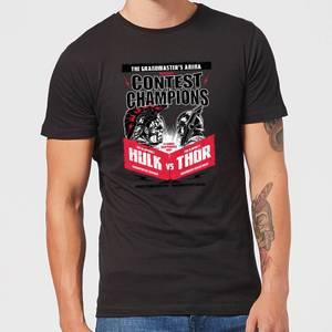 Marvel Thor Ragnarok Champions Poster Men's T-Shirt - Black