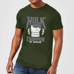 T-Shirt Marvel Thor Ragnarok Hulk Champion - Forest Green - Uomo