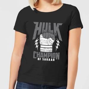 Marvel Thor Ragnarok Hulk Champion Women's T-Shirt - Black
