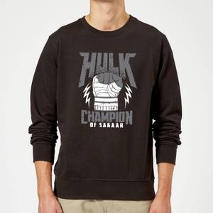 Marvel Thor Ragnarok Hulk Champion Sweatshirt - Black