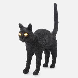 Seletti Jobby The Cat Lamp - Black