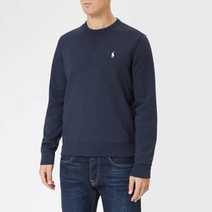 Polo Ralph Lauren Men's Double Knitted Crewneck Sweatshirt - Aviator Navy