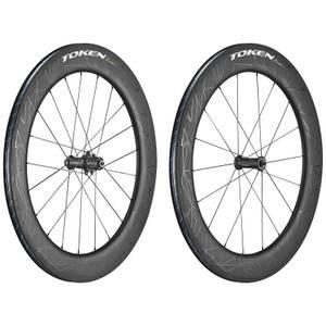 Token Konax Tri Zenith Carbon Tubeless Ready Wheelset - Shimano