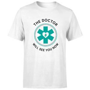 THE DOCTOR Men's T-Shirt - White