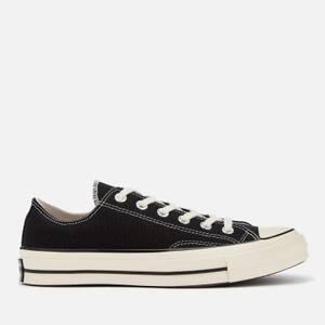Converse Chuck 70 Ox Trainers - Black/Black/Egret