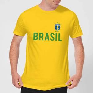 T-Shirt Homme Toffs Brésil - Jaune