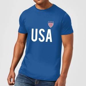 T-Shirt Homme Toffs USA - Bleu Roi