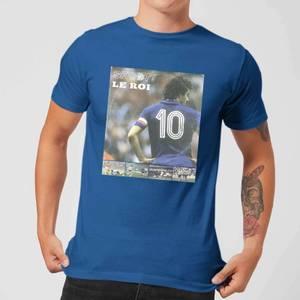 Shoot! Platini Le Roi Men's T-Shirt - Royal Blue