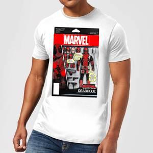 Marvel Deadpool Action Figure Men's T-Shirt - White