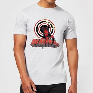 Marvel Deadpool Upside Down Men's T-Shirt - Grey