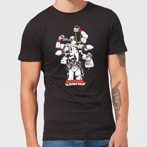 Marvel Deadpool Multitasking Men's T-Shirt - Black