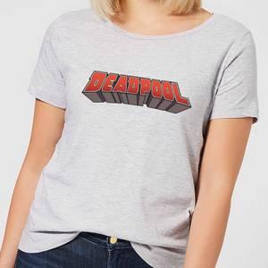 Marvel Deadpool Logo Women's T-Shirt - Grey