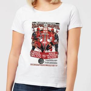 Marvel Deadpool Kills Deadpool Women's T-Shirt - White