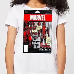 Marvel Deadpool Action Figure Women's T-Shirt - White