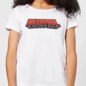 Marvel Deadpool Logo Women's T-Shirt - White
