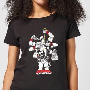 Marvel Deadpool Multitasking Women's T-Shirt - Black