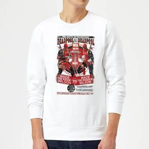 Marvel Deadpool Kills Deadpool Sweatshirt - White