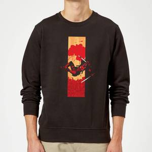 Sweat Homme Deadpool Bande Ensanglantée Marvel - Noir
