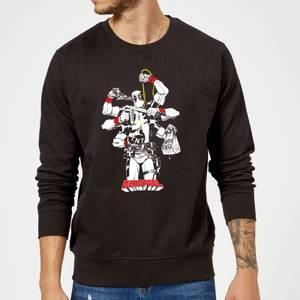 Marvel Deadpool Multitasking Sweatshirt - Black