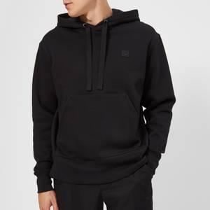 Acne Studios Men's Face Logo Hooded Sweatshirt - Black