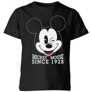 Disney Since 1928 Kids' T-Shirt - Black