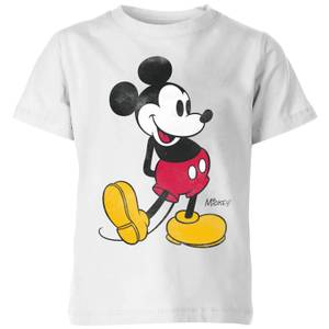 Disney Classic Kick Kids' T-Shirt - White