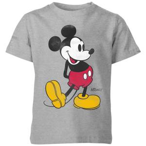 Disney Classic Kick Kids' T-Shirt - Grey