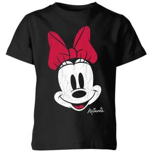 T-Shirt Enfant Disney Minnie Mouse - Noir