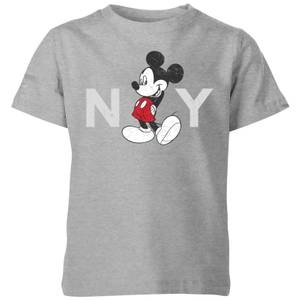 Disney NY Kids' T-Shirt - Grey