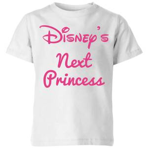 Disney Princess Next Kids' T-Shirt - White