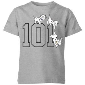 Disney 101 Dalmatians 101 Doggies Kids' T-Shirt - Grey