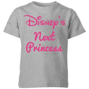 Disney Princess Next Kids' T-Shirt - Grey
