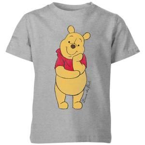 Disney Winnie The Pooh Classic Kids' T-Shirt - Grey