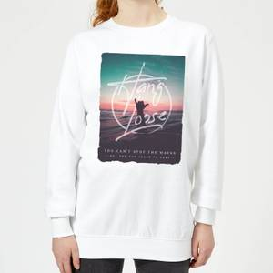 Hang Loose Women's Sweatshirt - White