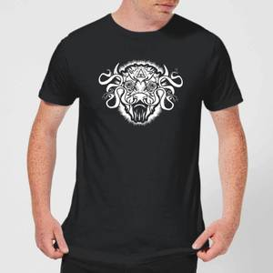 T-Shirt Homme American Gods Bison - Noir