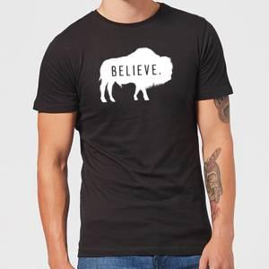 T-Shirt Homme American Gods Bison Believe - Noir