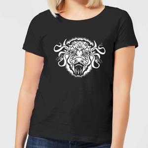 T-Shirt Femme American Gods Bison - Noir