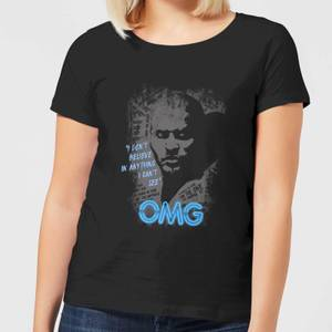 T-Shirt Femme American Gods I Don't Believe in Anything I Can't See - Noir