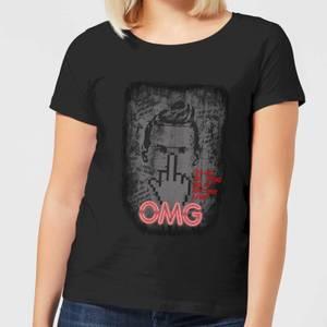 T-Shirt Femme American Gods Technical Boy - Noir