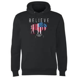 American Gods Believe In Bull Hoodie - Black