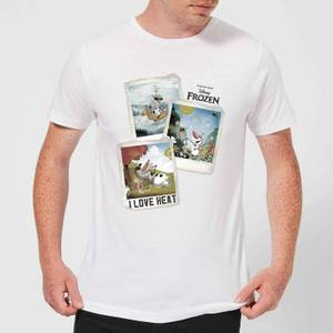 Disney Frozen Olaf Polaroid Men's T-Shirt - White