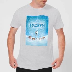 Disney Frozen Snow Poster Men's T-Shirt - Grey